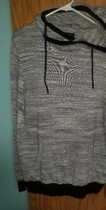 Express Sweater Top/Hoodie Size Large